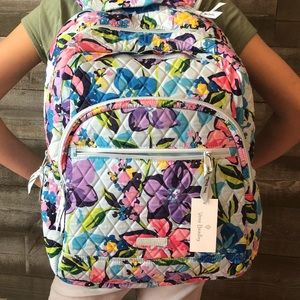 Vera Bradley Essential Quilted Large Backpack NWT!